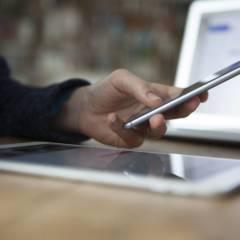 Tablet und Smartphone