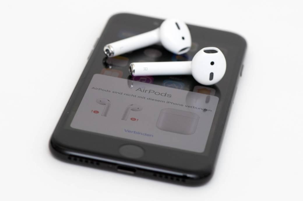 AirPods auf iPhone
