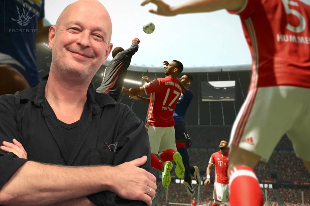 Michael Müller-Möhring ist selbst ein Fußball-Verrückter – für EA Sports kümmert er sich um die Werte aller 18.000 Kicker.
