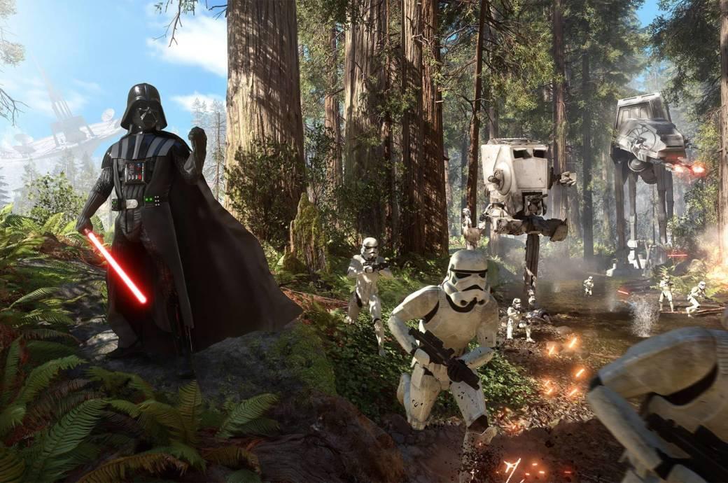 """Zocken mit Darth Vader: In """"Star Wars: Battlefront"""" kein Problem."""