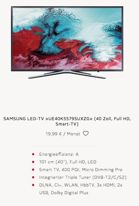 Fernseher Samsung LED-TV