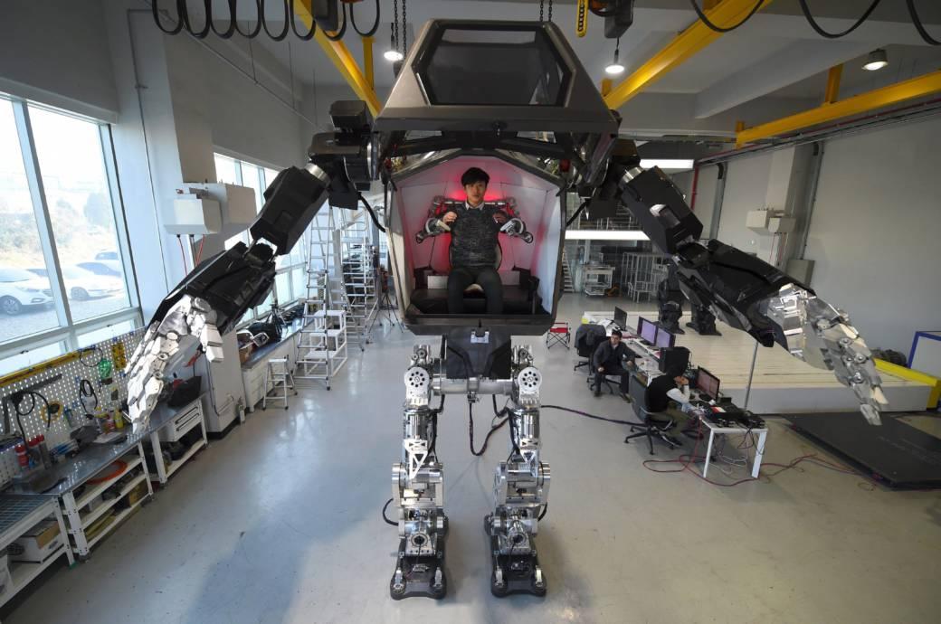 Kampf-Roboter aus Südkorea Method-2