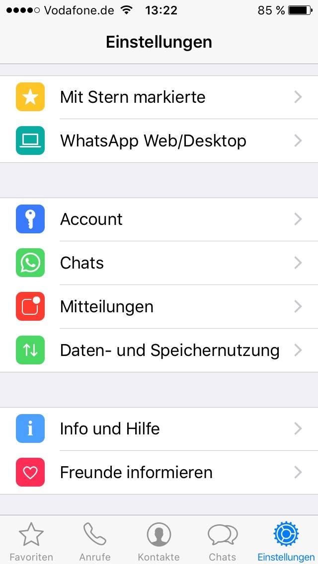 wie kann ich whatsapp chats von anderen lesen