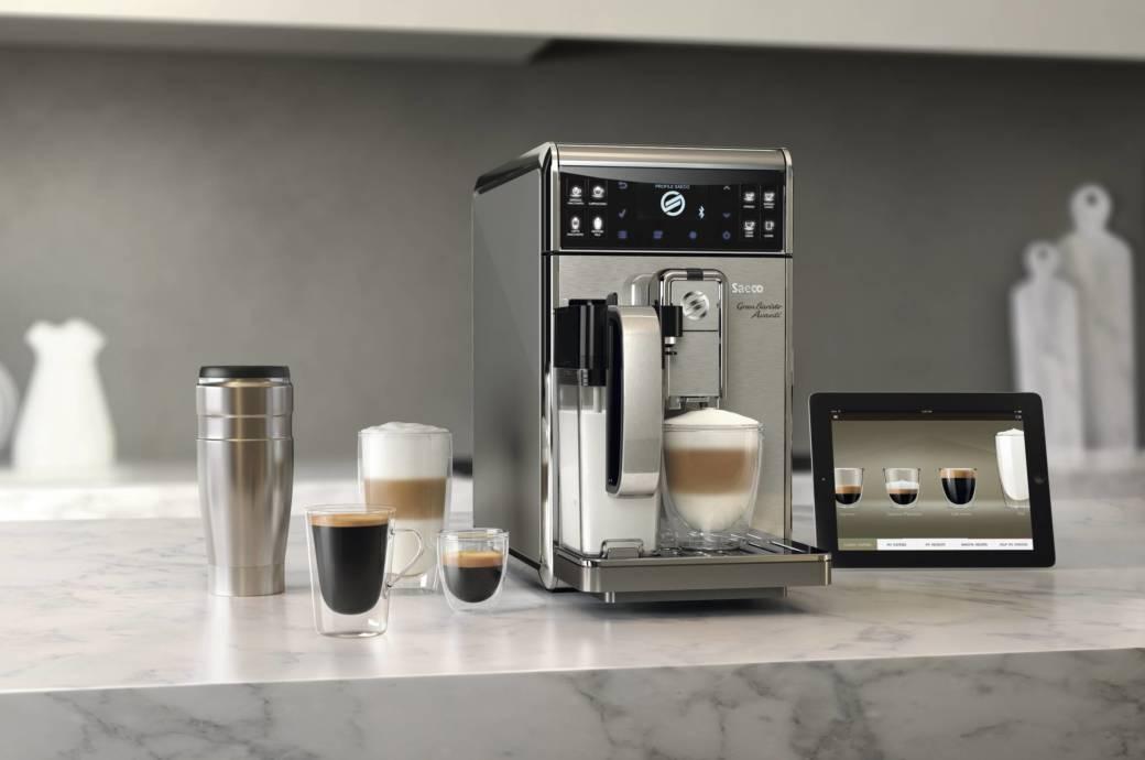 Die Saeco GranBaristo Avanti Gehört Zu Den Wenigen Kaffeevollautomaten, Die  Eine App Anbindung Haben. Foto: Philips