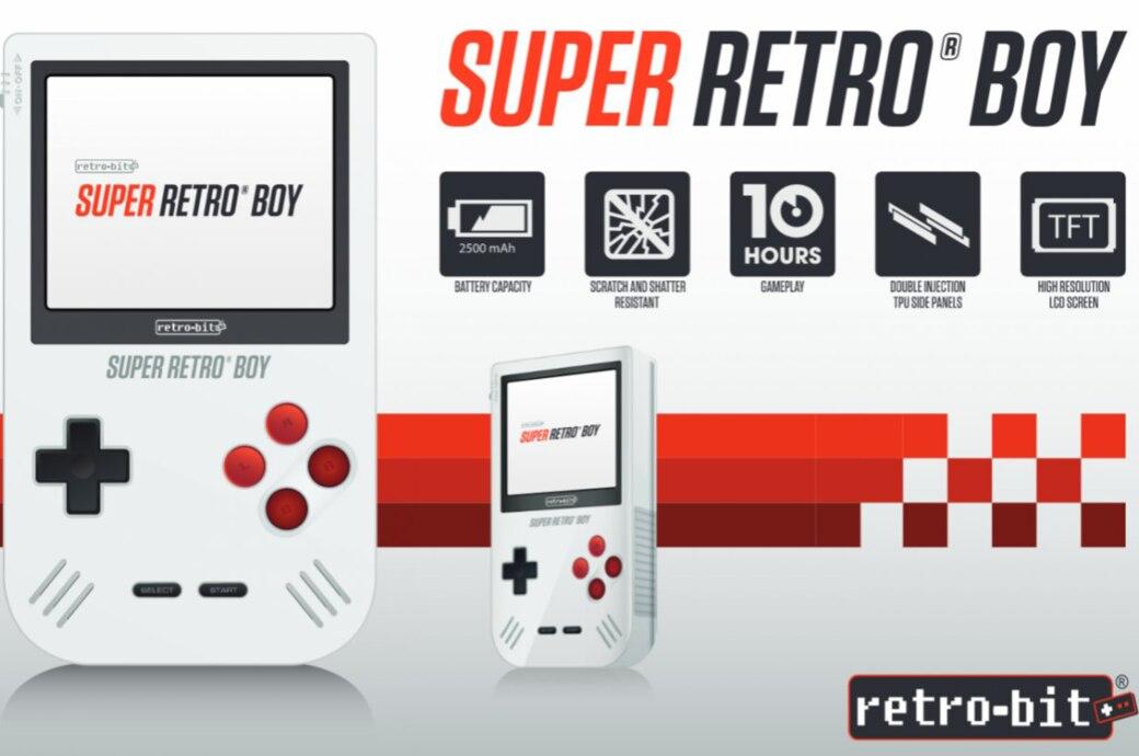 Der Super Retro Boy sieht aus wie der klassische Game Boy
