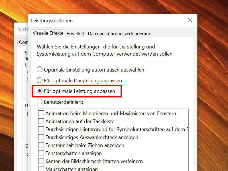 Laptop schneller machen windows 10