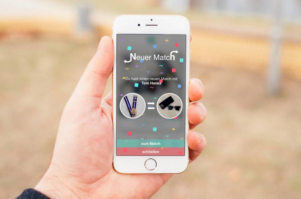 swapper diese app ist eine tauschb rse f r gebrauchtes techbook. Black Bedroom Furniture Sets. Home Design Ideas