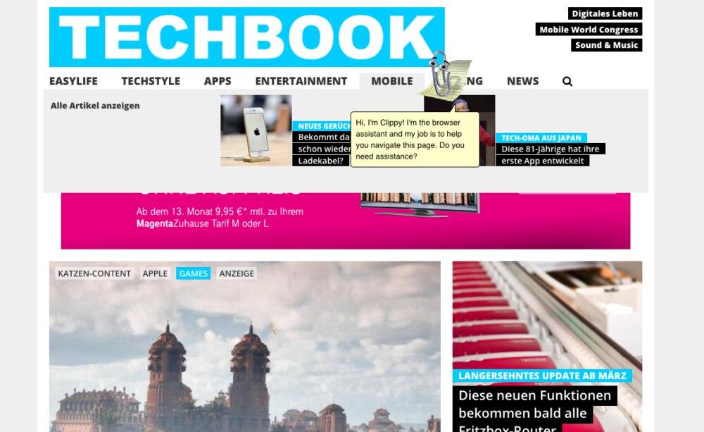 Oh Nein Microsofts Buroklammer Karl Ist Zuruck Techbook