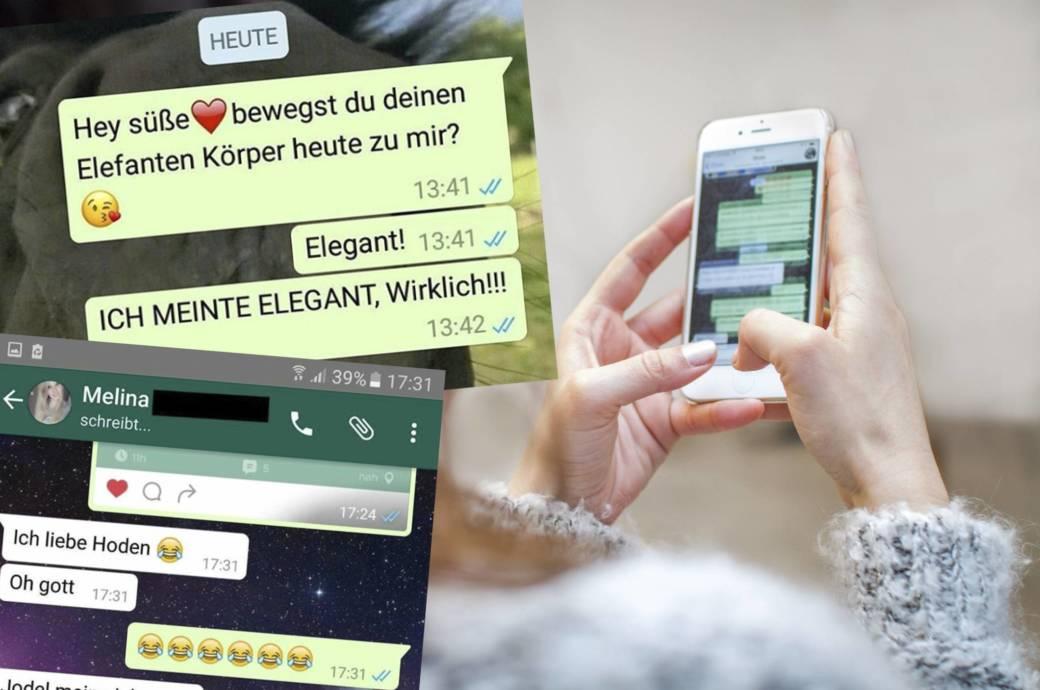 Autokkorrekturfehler auf WhatsApp