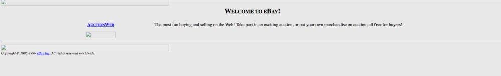 Nach Spaß beim Verkaufen und Kaufen sah das Online-Auktionshaus damals noch nicht aus.