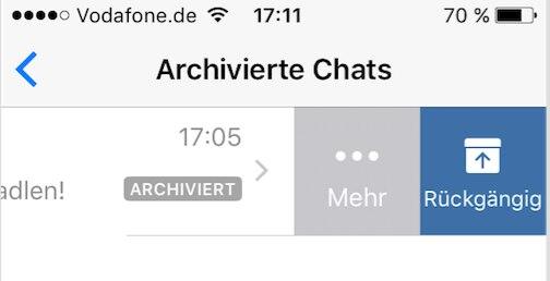 Whatsapp Chats Verstecken über Die Archivier Funktion Techbook