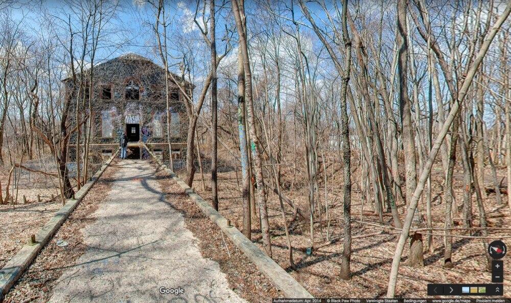 Ein verlassenes ehemaliges Armenhaus in New York hat ein gruseliges Geheimnis.