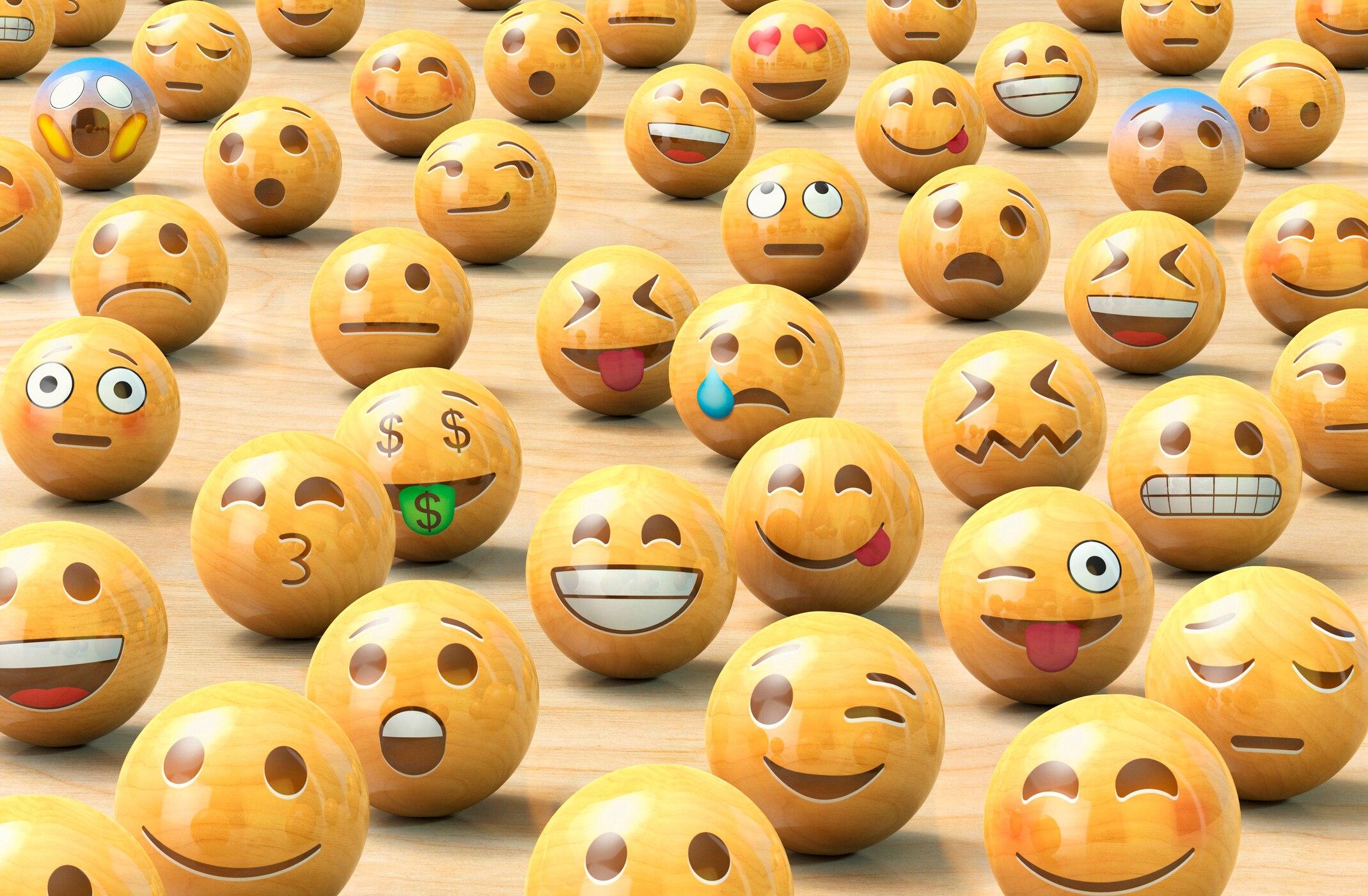 Smileys kuss mit herz bedeutung