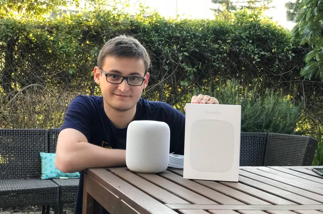 Apple Home Pod Philippe Fischer