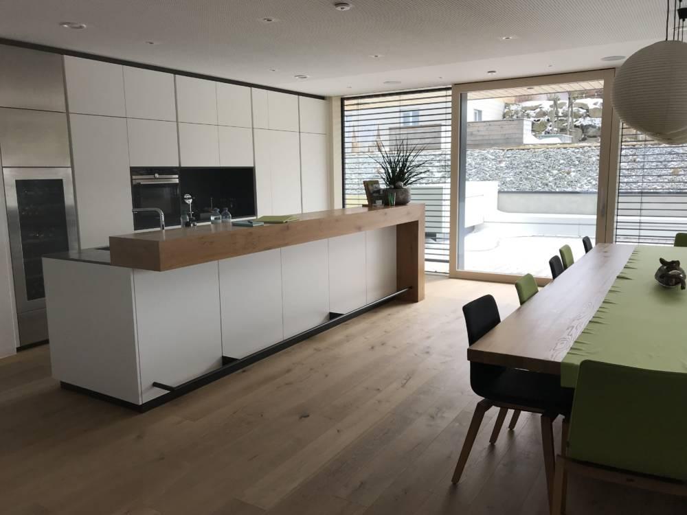 Loxone Showhome Kollerschlag Küche Esszimmer