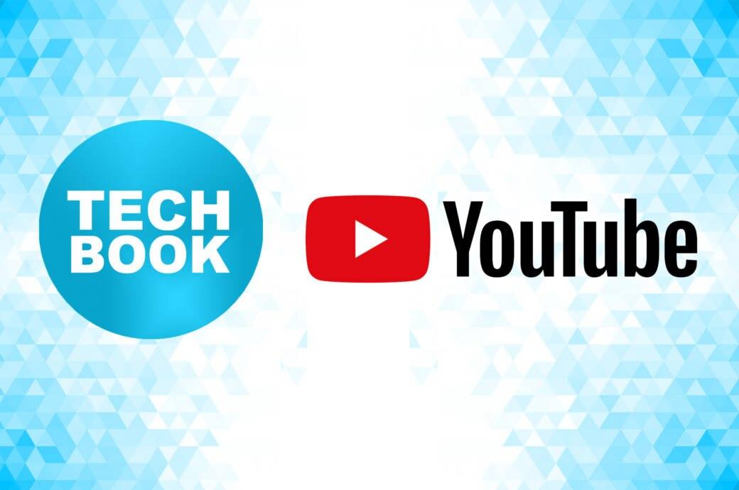 TECHBOOK- und Youtube-Logo