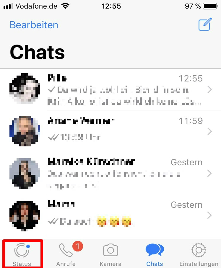 So ändern Sie Ihren Whatsapp Status Techbook