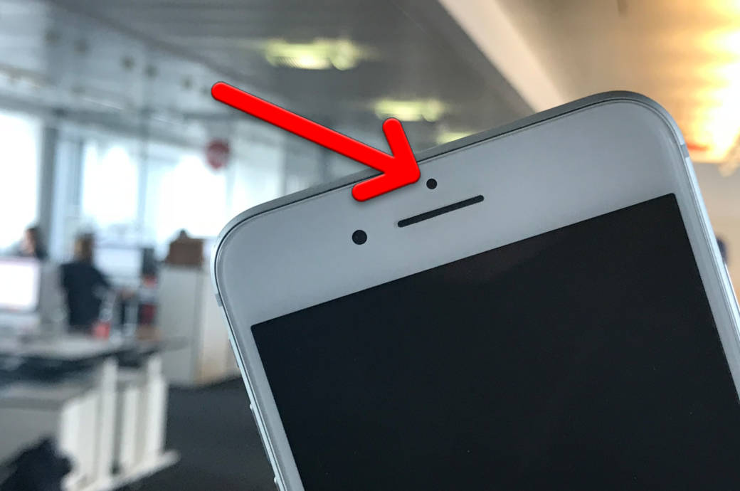iPhone Sensors on Front Camera