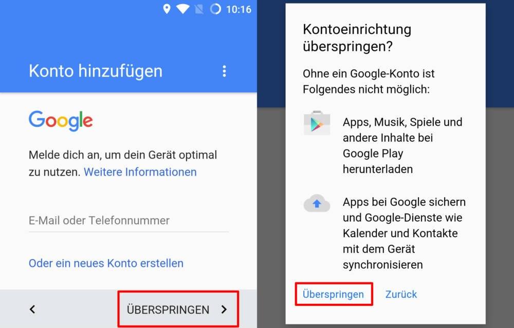 So Nutzen Sie Ihr Android Smartphone Ohne Google Konto Techbook