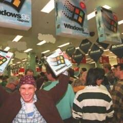 Windows 95 Verkaufsstart