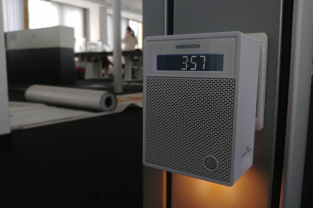 Medion Bluetooth-Radio in Steckdose
