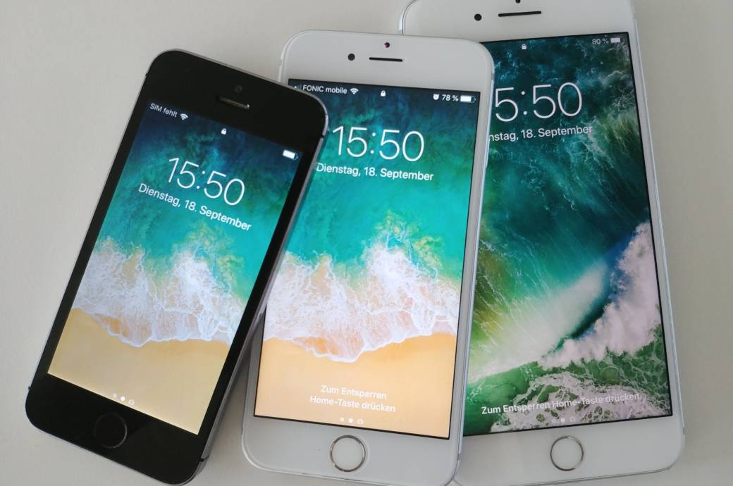 595b852c058 iPhone 5s, iPhone 6s, iPhone 7 Plus Ein Hauptargument pro Apple ist die  Versorgung mit ...