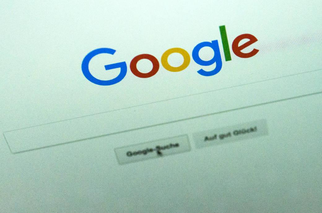 Suchfeld bei Google