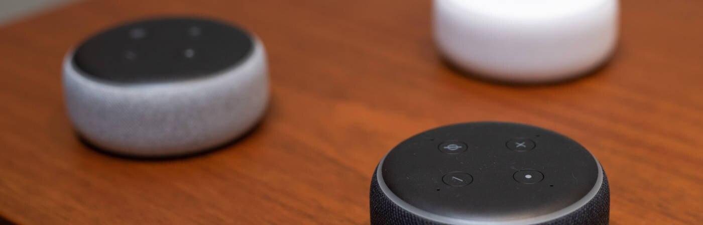 Amazon Echo Dot 3. Generation in 3 Varianten