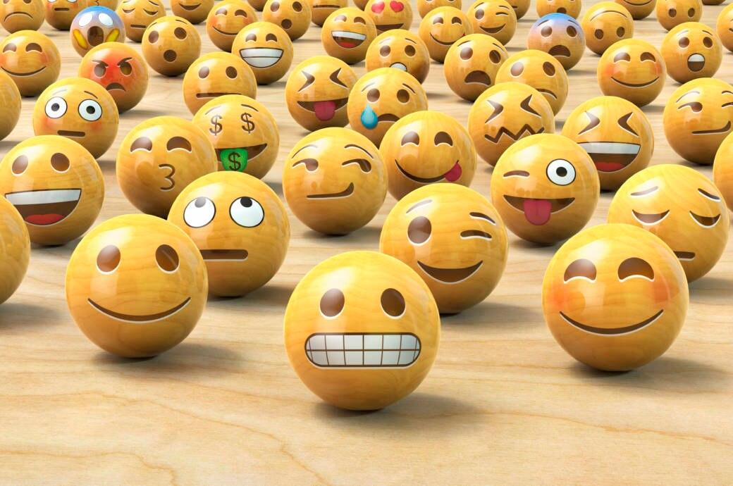 Smiley-Kugeln
