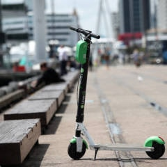 Lime E-Scooter in Auckland