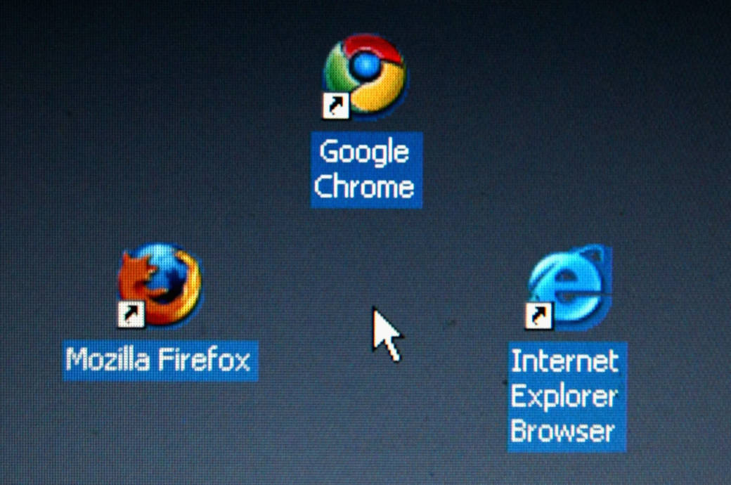 Mozilla Firefox, Google Chrome, Internet Explorer