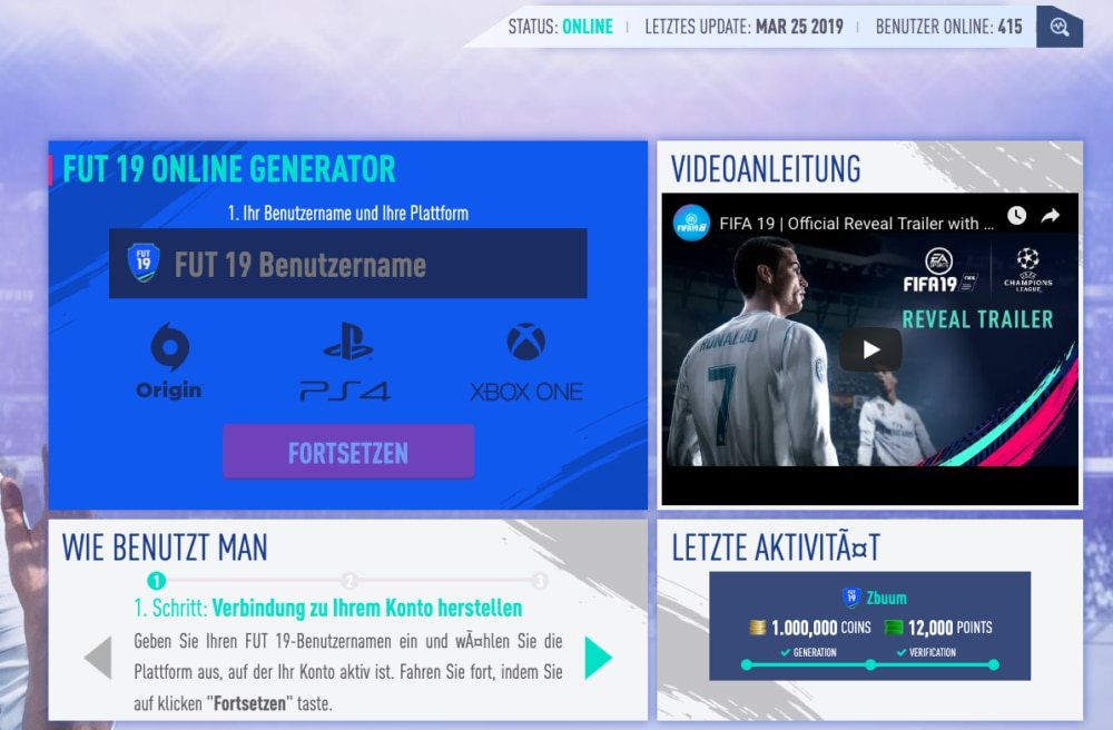 FIFA 19 Abzocke