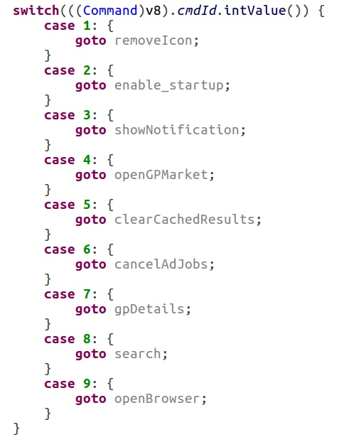 SimBad Server Commands