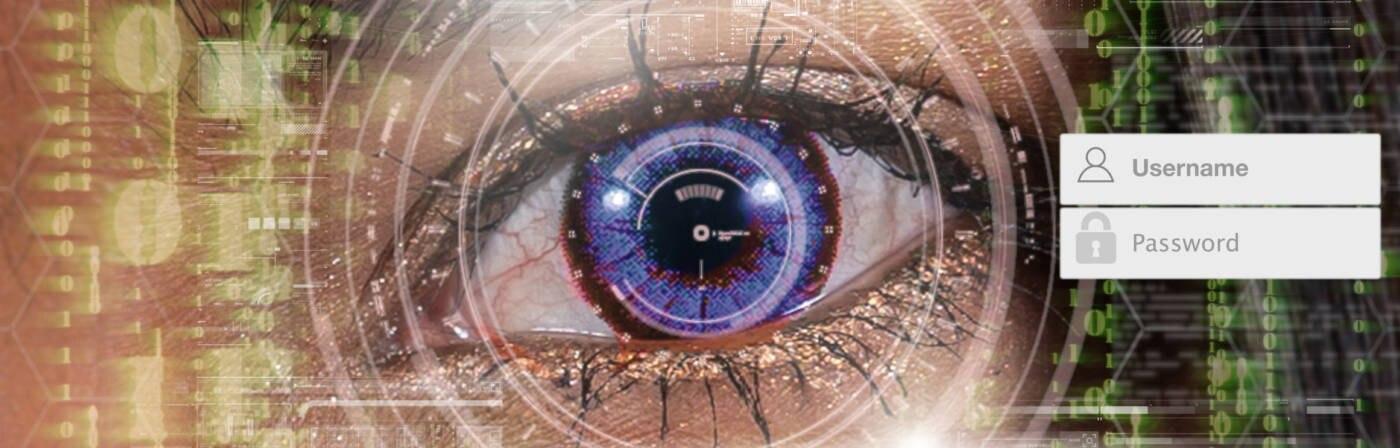 Einloggen per Augenscan