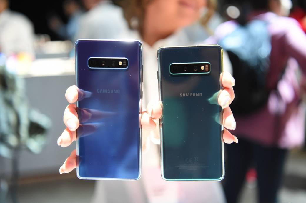 Dafür steht das S beim Samsung Galaxy S10
