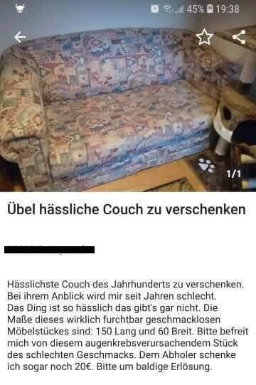 Sofa Ebay Kleinanzeigen