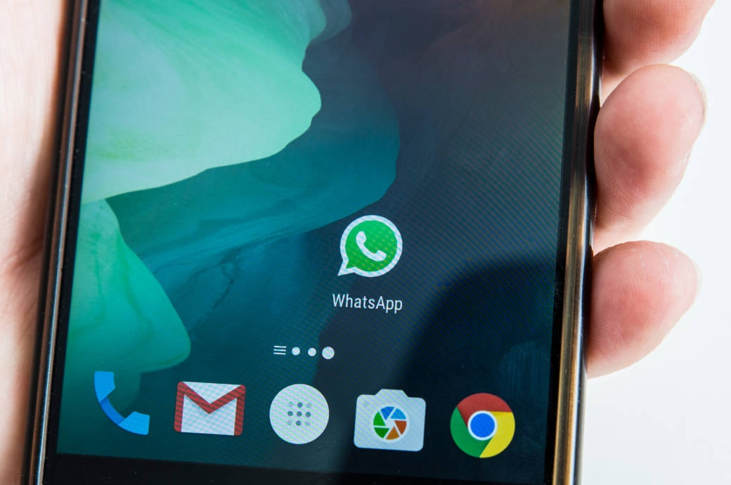 WhatsApp auf Android Home Screen