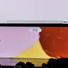 Apple Pencil lädt an iPad Pro