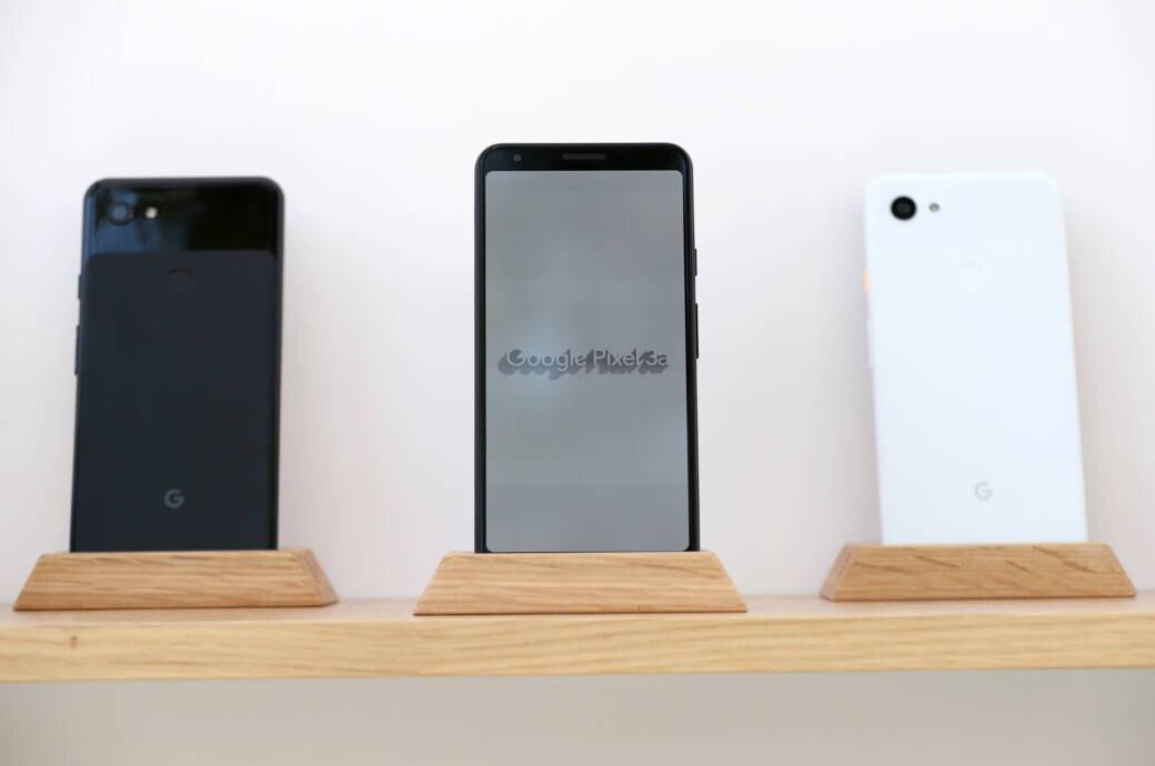 Pixel 3a auf der Google I/O 2019