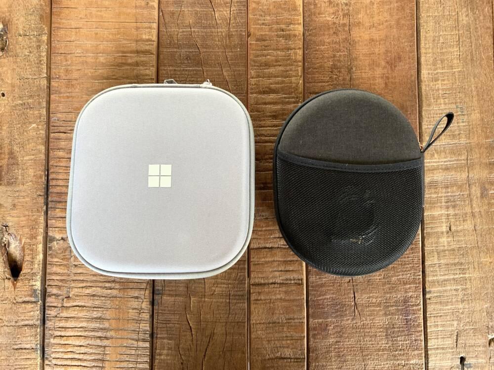 Surface Pro und Sony Schutzhülle