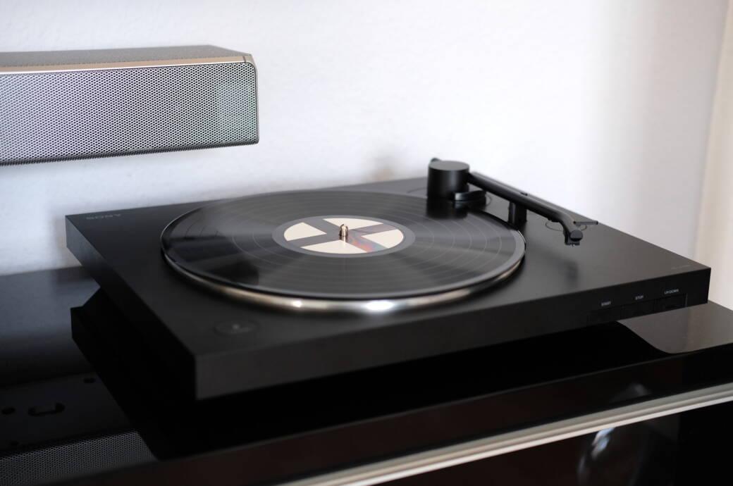 Das taugt Sonys neuer Plattenspieler mit Bluetooth-Verbindung