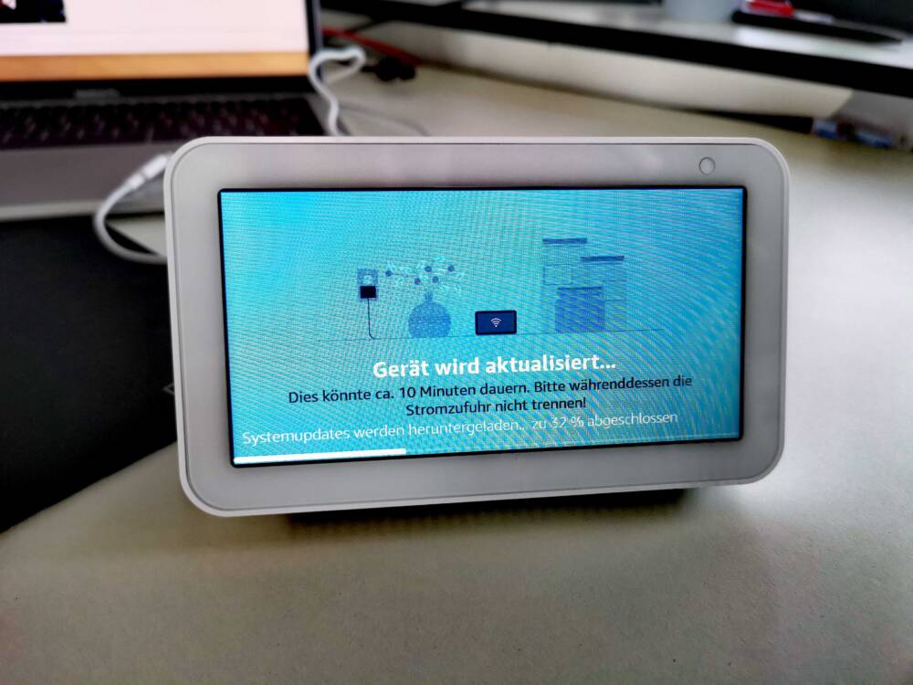 Software update on the Echo Show 5
