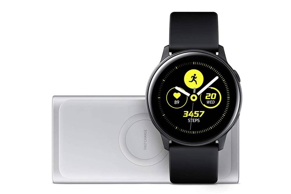 Samsung Galaxy Watch Active + induktive Powerbank