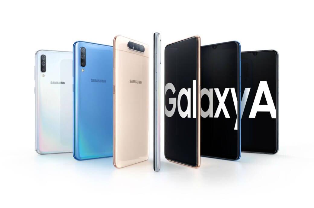 Die Galaxy-A-Serie von Samsung