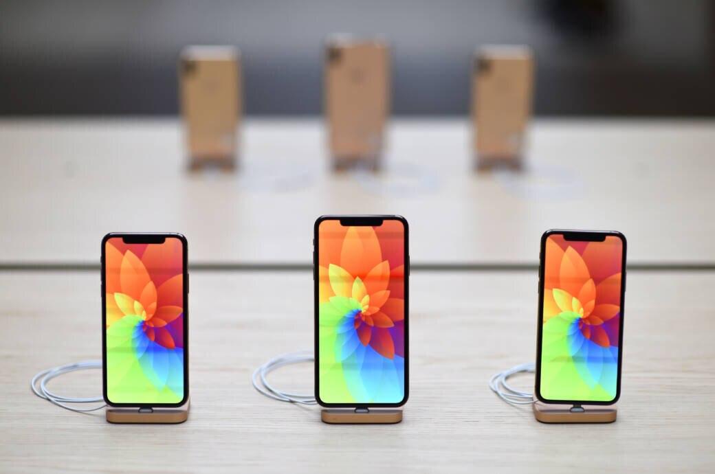 Die iPhones 2018 im Apple Store