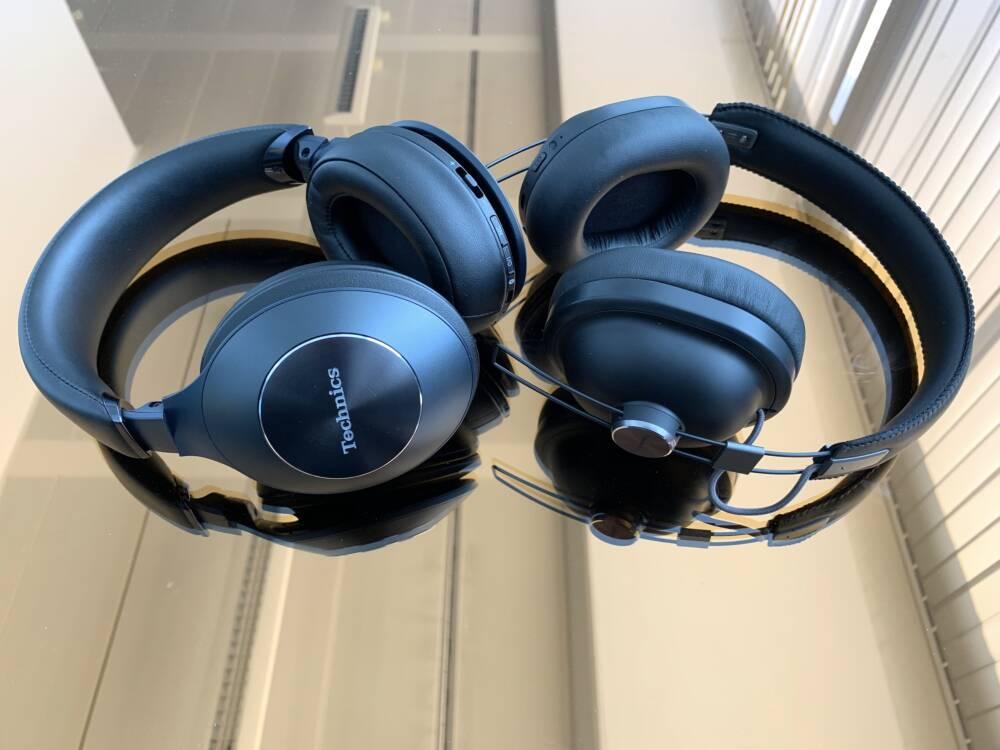 Technics EAH-F70N und Panasonic RP-HTX90N