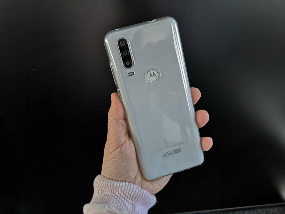 Triple-Kamera des Motorola One Action
