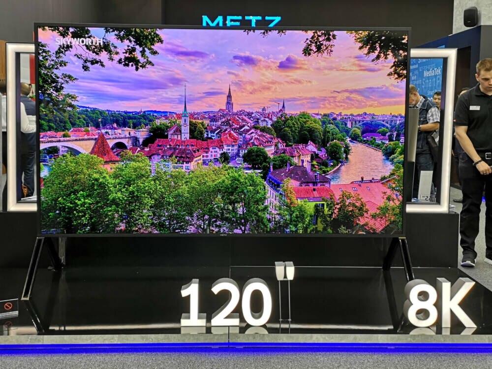 Fernseher mit 120 Zoll Diagonale