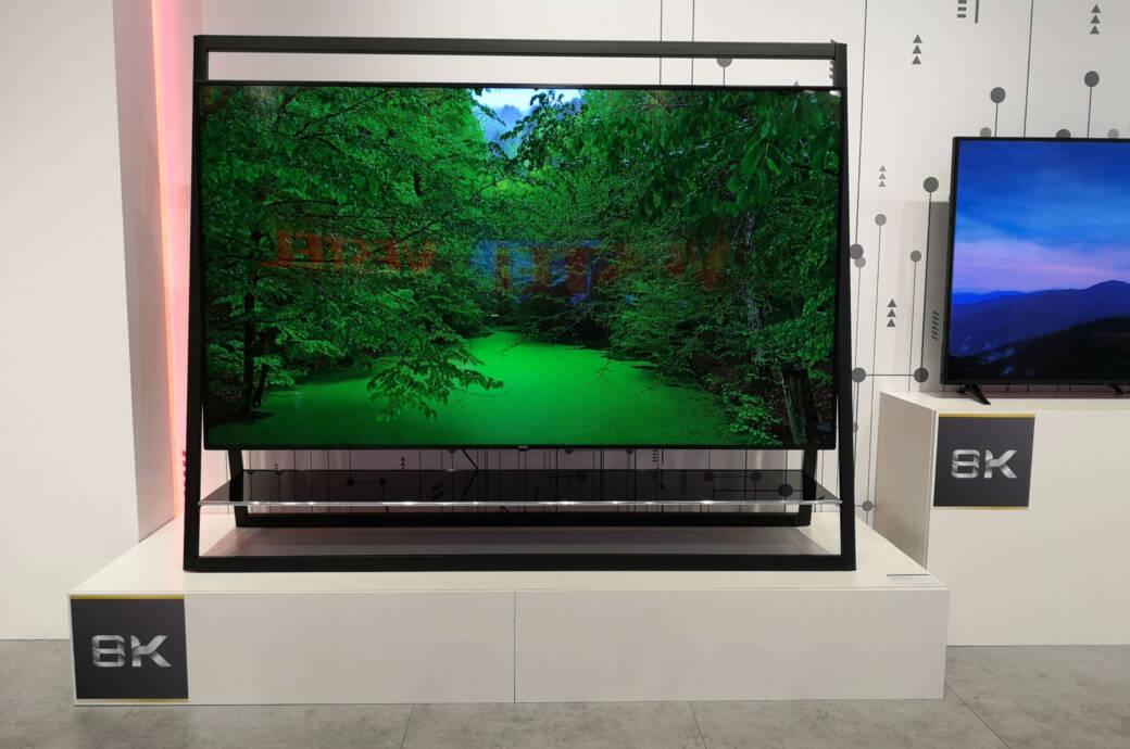 8K-Fernseher von Vestel