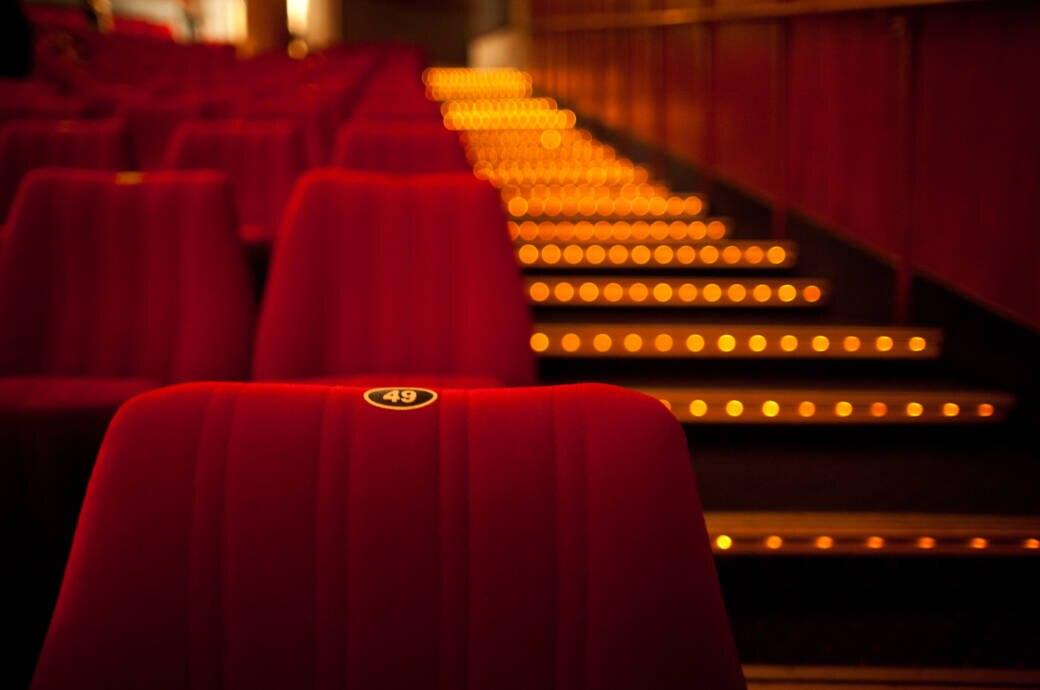 Kinositze im Kinosaal